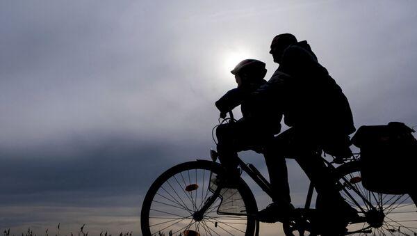 Un cycliste en Allemagne - Sputnik France