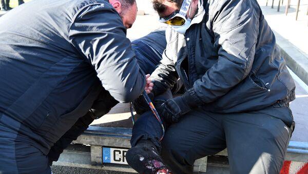 un homme blessé au Mans - Sputnik France