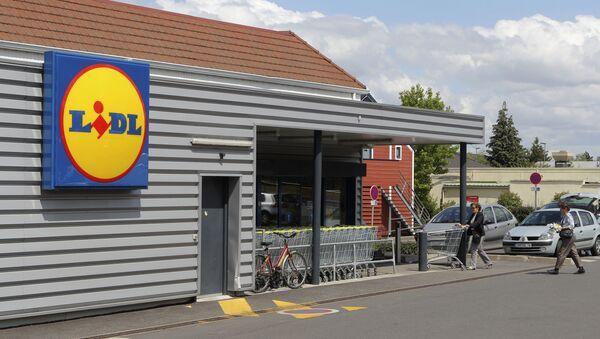 Un supermarché Lidl, image d'illustration  - Sputnik France