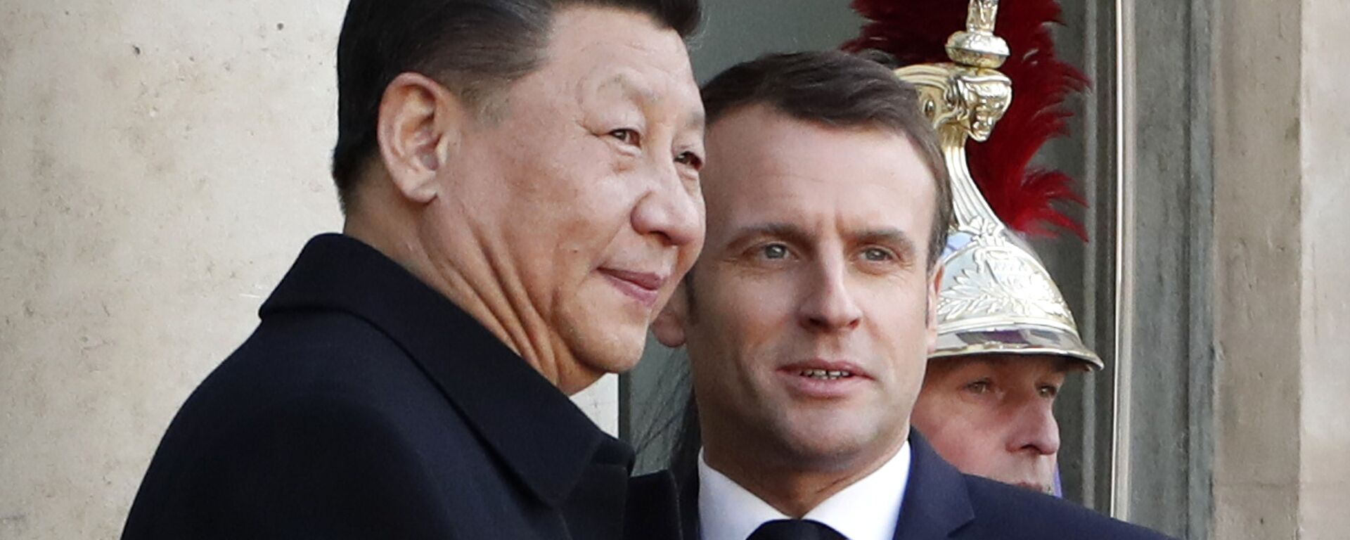 Emmanuel Macron et Xi Jinping - Sputnik France, 1920, 18.01.2021