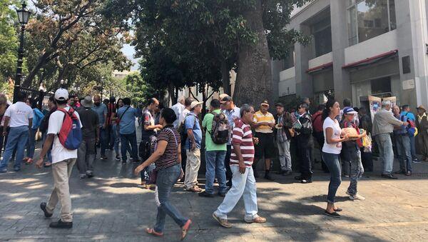 Panne d'électricité à Caracas - Sputnik France