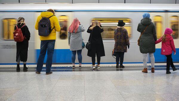 Une journée dans le métro de Moscou - Sputnik France