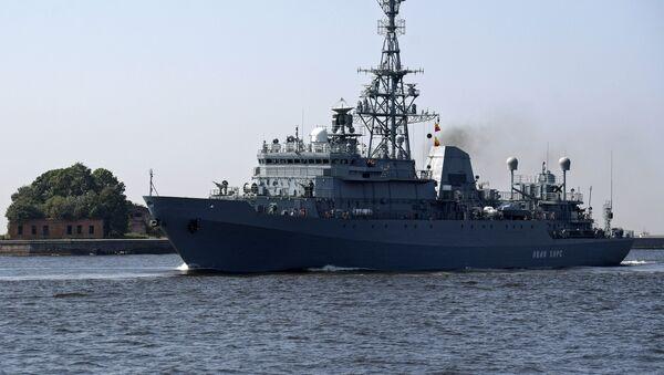 Le navire de reconnaissance Ivan Khours - Sputnik France