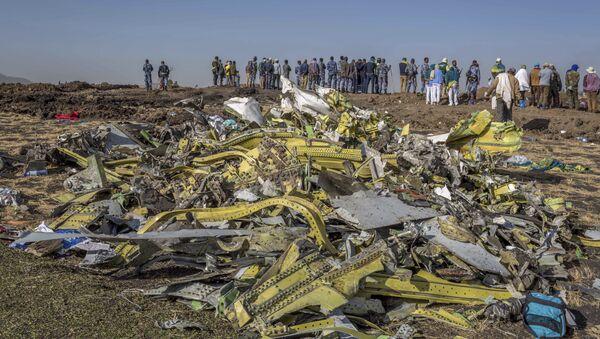 Lieu du crash du Boeing 737 MAX 8 éthiopien - Sputnik France