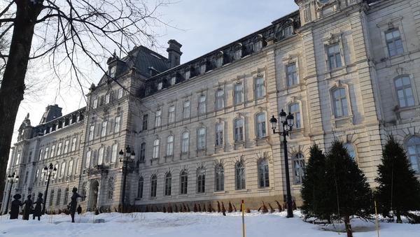 L'aile sud de l'Assemblée nationale du Québec, dans la ville de Québec (2019) - Sputnik France
