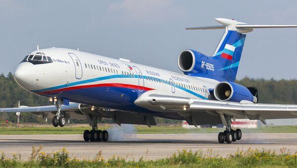 Un Tupolev Tu-154M-Lk-1 - Sputnik France