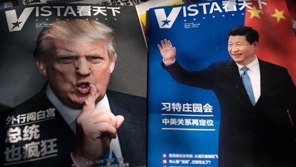 Donald Trump et Xi Jinping - Sputnik France