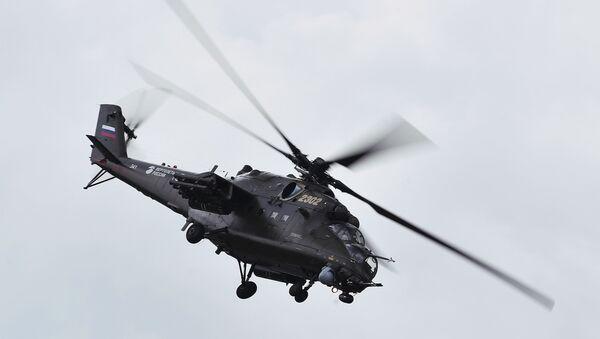 Un hélicoptère Mi-35M - Sputnik France