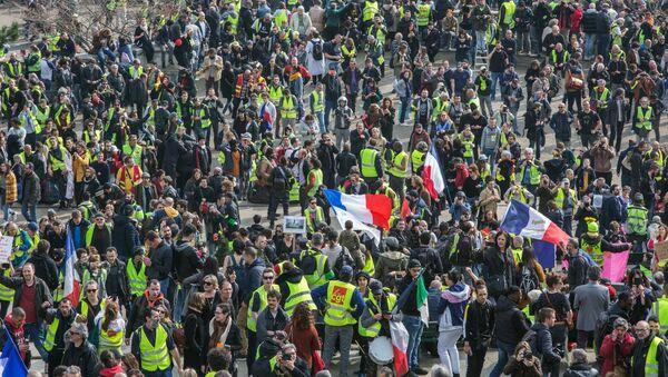 L'acte 19 des Gilets jaunes à Paris - Sputnik France