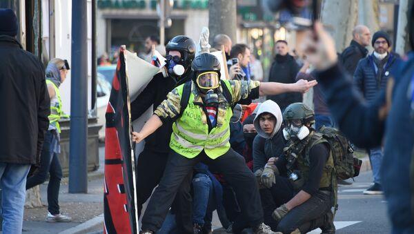 Une manifestation des Gilets jaunes à Toulouse, image d'illustration - Sputnik France