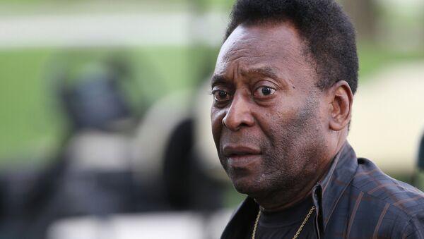 Ex-jogador do Santos e da seleção brasileira, Pelé - Sputnik France