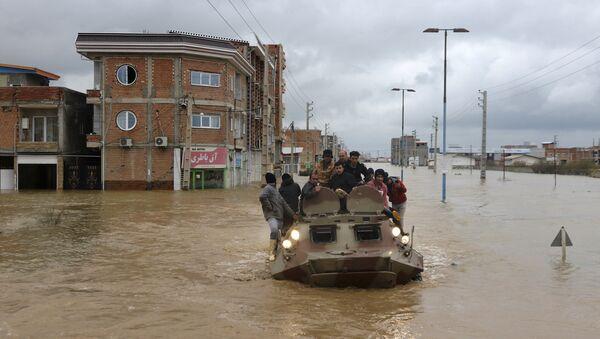 Iran sous inondations - Sputnik France