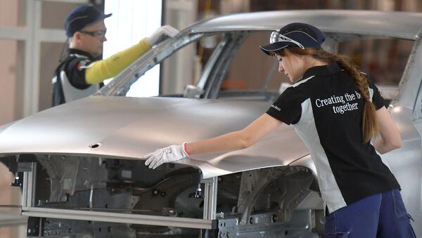 Mercedes assemblées en Russie: l'usine Daimler dans la banlieue de Moscou - Sputnik France