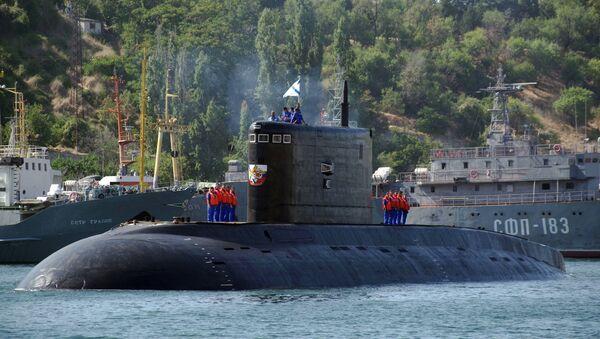 Le sous-marin diesel-électrique Krasnodar à Sébastopol - Sputnik France