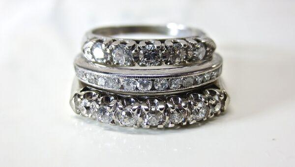 кольцо с бриллиантом - Sputnik France