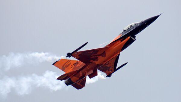 Un F-16 néerlandais - Sputnik France