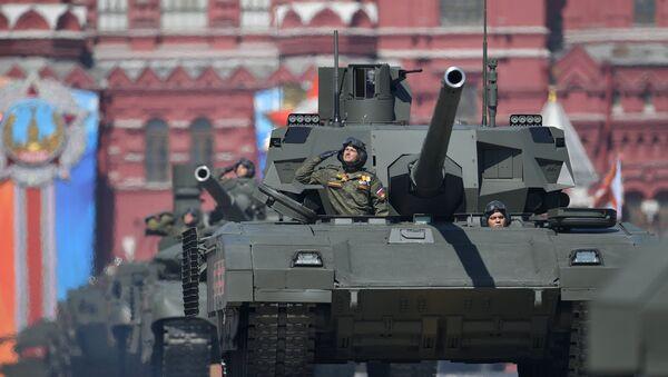 Une défilé militaire sur la place Rouge à Moscou (archive photo) - Sputnik France