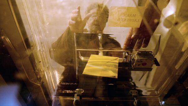Vote aux élections européennes de 2014 à Tulle, dans le sud-ouest de la France - Sputnik France