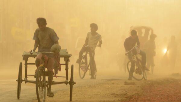 une tempête de sable en Inde (image d'illustration) - Sputnik France