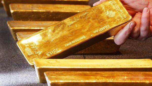 Des lingots d'or (image d'illustration) - Sputnik France