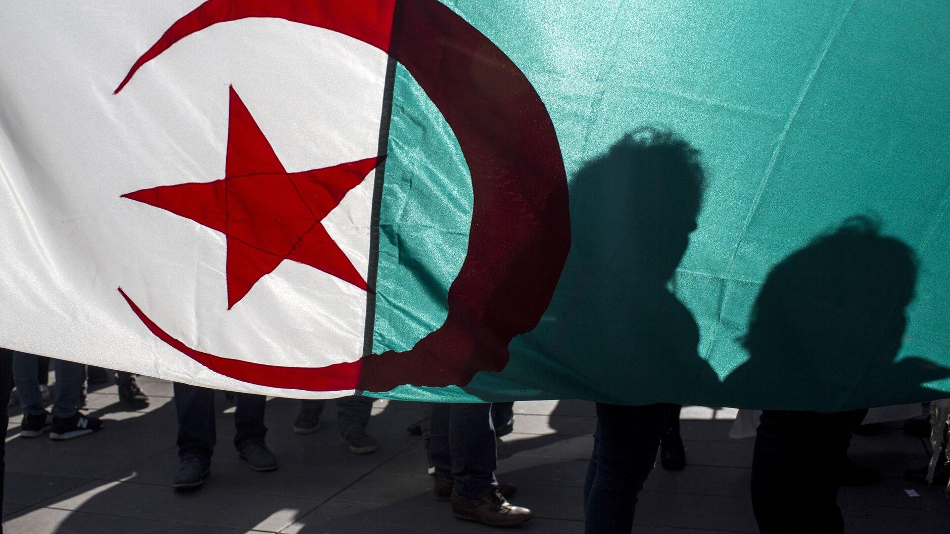 un drapeau algérien - Sputnik France, 1920, 09.04.2021