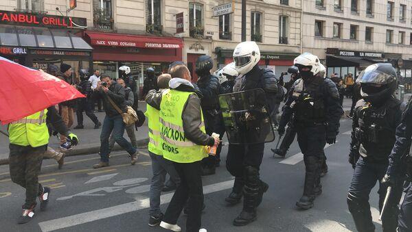 Acte 22 des Gilets jaunes à Paris, 13 avril 2019 - Sputnik France