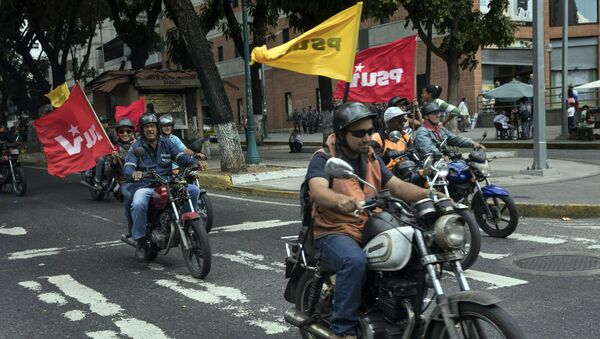 Colectivos, milices pro-gouvernementales vénézuéliennes - Sputnik France