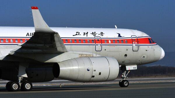 Un avion Tupolev Tu-204-300 de la compagnie nord-coréenne Air Koryo à Vladivostok - Sputnik France