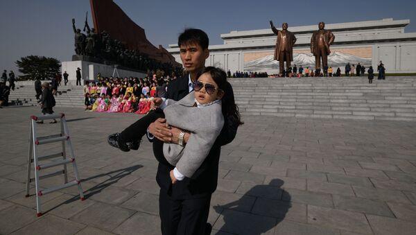 Festivités consacrées au Jour du Soleil à Pyongyang - Sputnik France