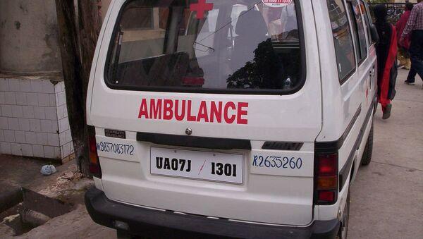 Ambulance en Inde - Sputnik France