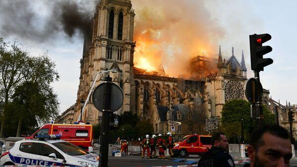 Incendie de Notre-Dame - Sputnik France