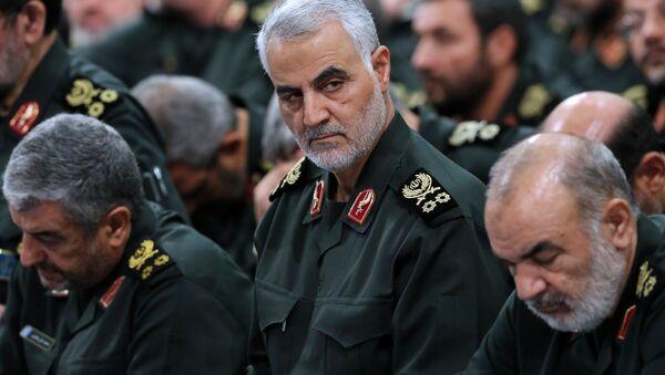 Le général iranien Qasem Soleimani du Corps des Gardiens de la révolution islamique - Sputnik France