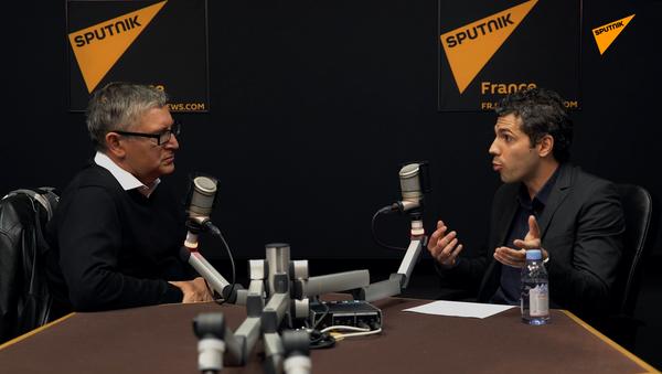 Sputnik France a reçu le philosophe Michel Onfray pour balayer l'actualité - Sputnik France