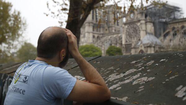 Incendie à Notre-Dame de Paris - Sputnik France