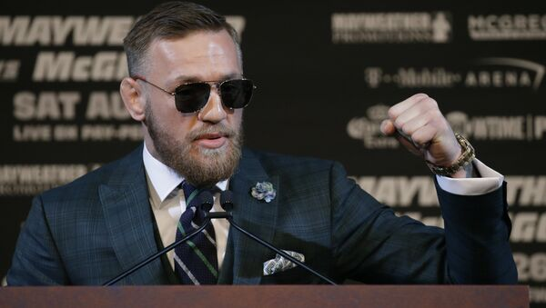 UFC Fighter Conor McGregor  - Sputnik France
