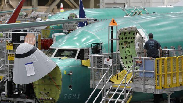 Best-seller de Boeing, le 737 Max a connu un pic de commande à plus de 5.000 exemplaires, atteint en 2018, avant que la crise de confiance due aux crashs ne fasse redescendre ce chiffre à 4.619. - Sputnik France