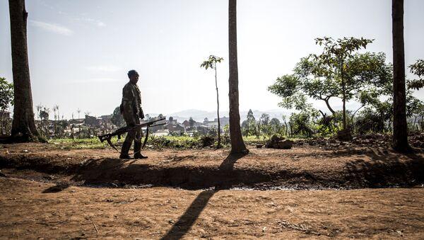 un soldat de la République démocratique du Congo - Sputnik France