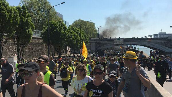 Acte 23 des Gilets jaunes, le 20 avril 2019 - Sputnik France