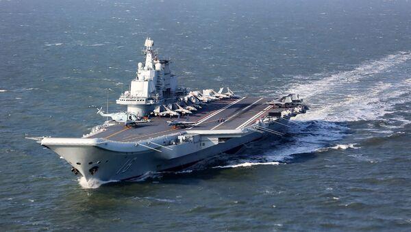 Le porte-avions chinois Liaoning (archive photo) - Sputnik France