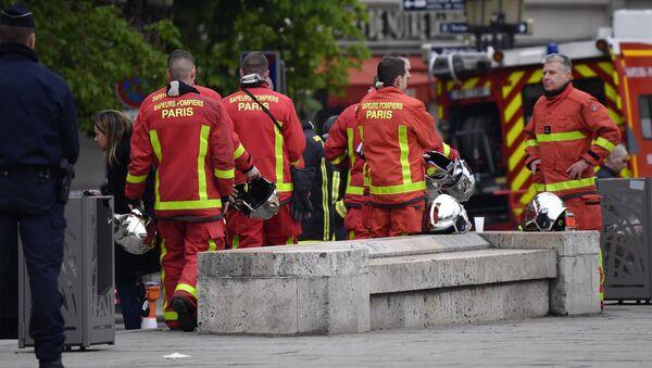 pompiers parisiens (Image d'archive) - Sputnik France