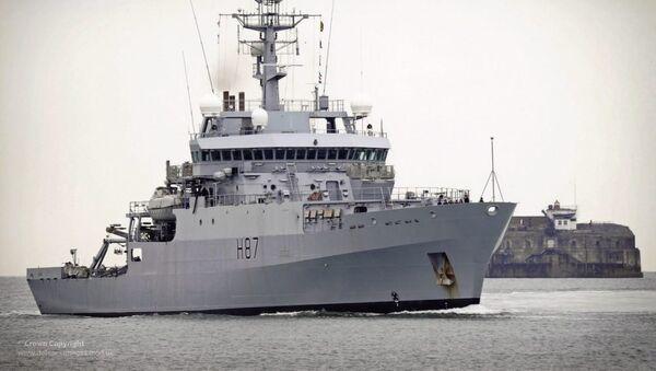 Le HMS Echo (photo d'archive) - Sputnik France