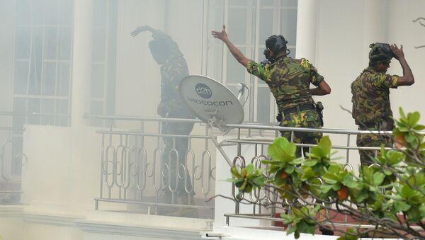 Les forces de l'ordre ont découvert et neutralisé un explosif près de l'aéroport international Bandaranaike - Sputnik France