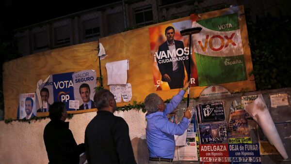 A l'approche des élections législatives anticipées de 2019 en Espagne - Sputnik France