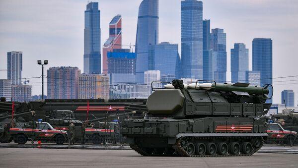 Préparation de l'équipement militaire pour le défilé de la Victoire à Moscou - Sputnik France