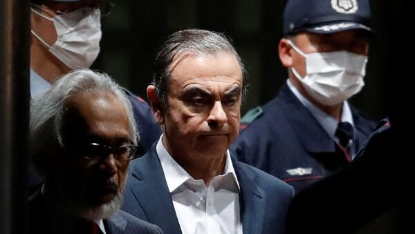 Carlos Ghosn quitte la prison - Sputnik France
