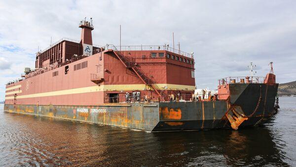 La centrale nucléaire flottante Akademik Lomonossov - Sputnik France