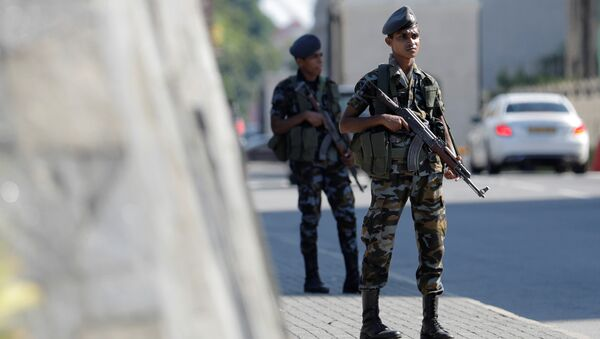 Un miliatire au Sri Lanka - Sputnik France