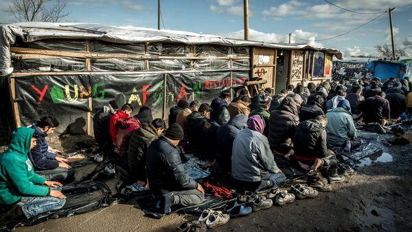 Migrants et réfugiés à Calais, en France - Sputnik France