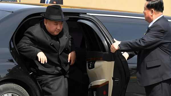 Kim Jong-un à Vladivostok, le 25 avril 2019 - Sputnik France