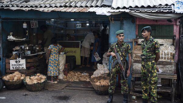 Des soldats sri-lankais à Colombo - Sputnik France